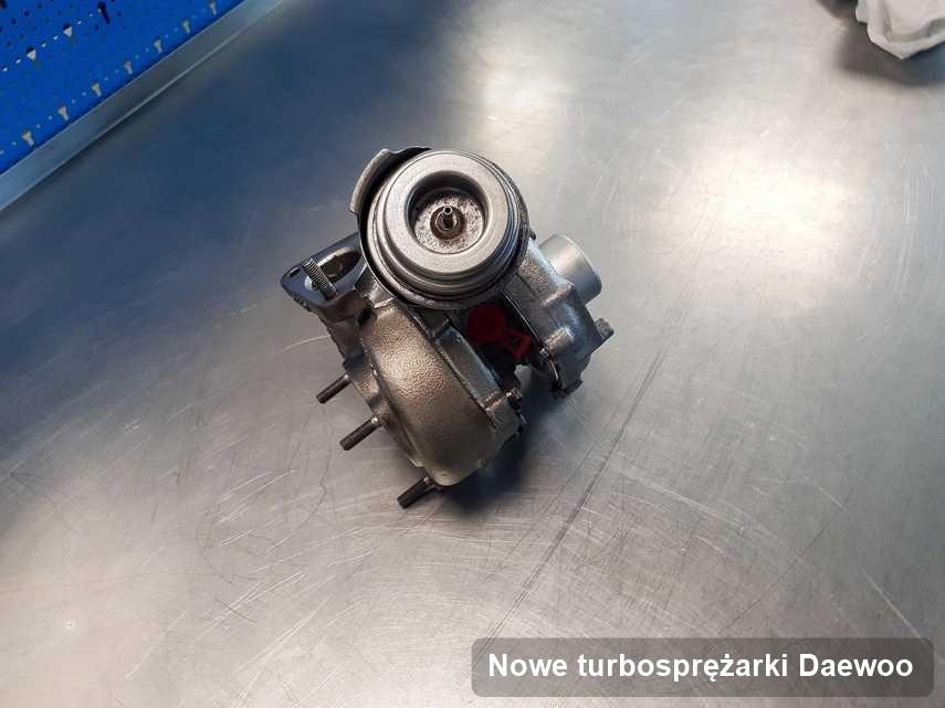 Turbosprężarka do samochodu producenta Daewoo zregenerowana w przedsiębiorstwie gdzie wykonuje się usługę Nowe turbosprężarki