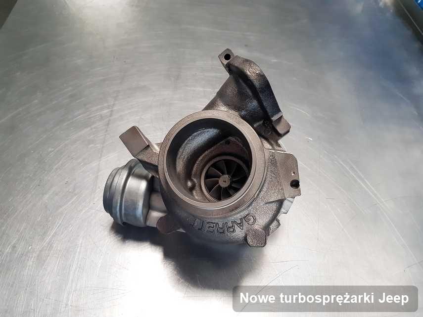 Turbosprężarka do osobówki marki Jeep po naprawie w pracowni gdzie zleca się usługę Nowe turbosprężarki