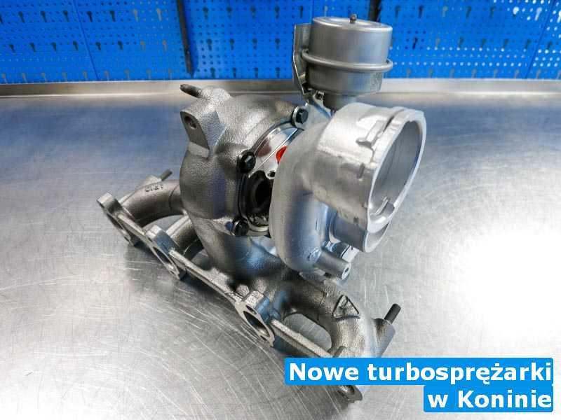 Turbosprężarka w pracowni regeneracji pod Koninem - Nowe turbosprężarki, Koninie