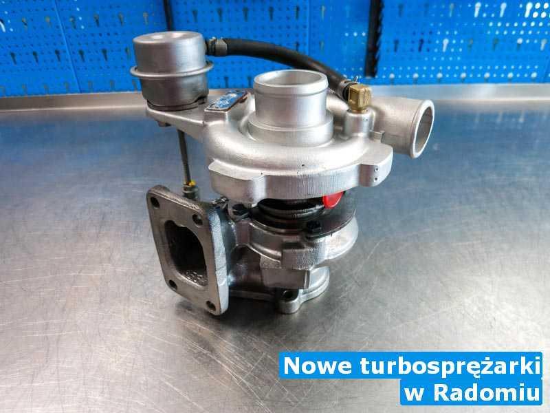 Turbiny zdiagnozowane w Radomiu - Nowe turbosprężarki, Radomiu