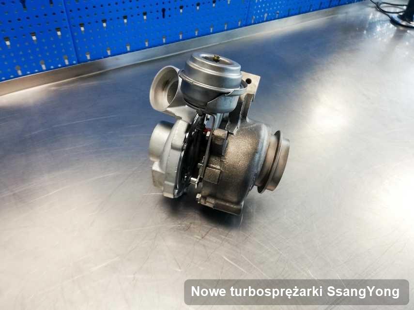 Turbina do auta firmy SsangYong zregenerowana w firmie gdzie przeprowadza się  serwis Nowe turbosprężarki