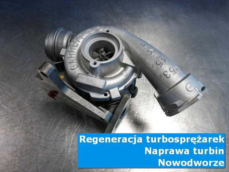 Turbosprężarka po demontażu w autoryzowanej pracowni w Nowodworzu