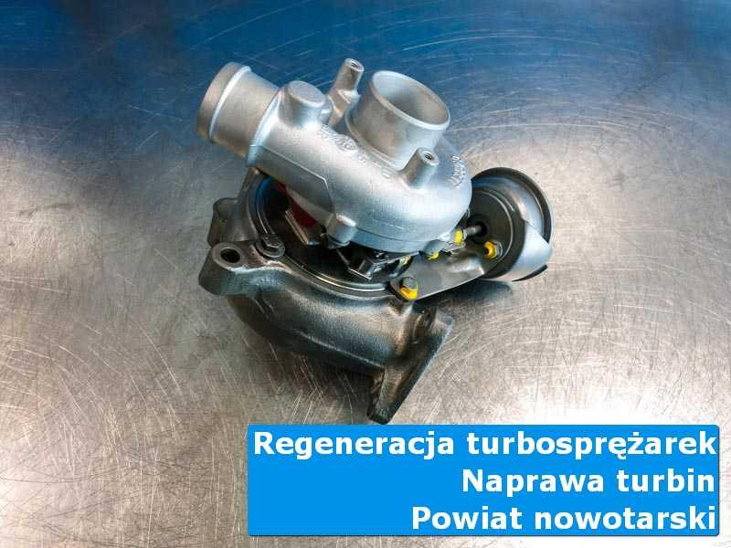 Turbosprężarka po naprawie u specjalistów, powiat nowotarski