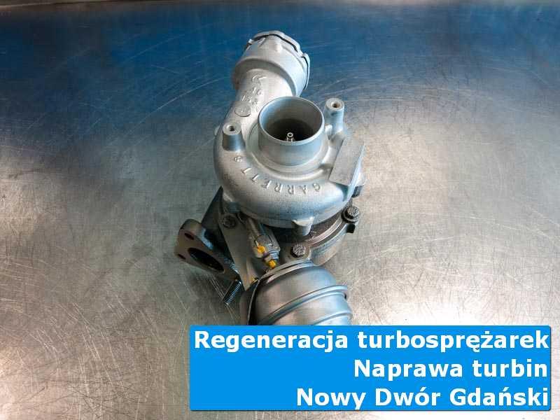 Układ turbodoładowania po regeneracji w nowoczesnej pracowni z Nowego Dworu Gdańskiego