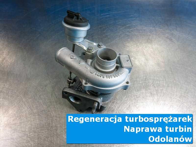Turbosprężarka przed demontażem u specjalistów z Odolanowa