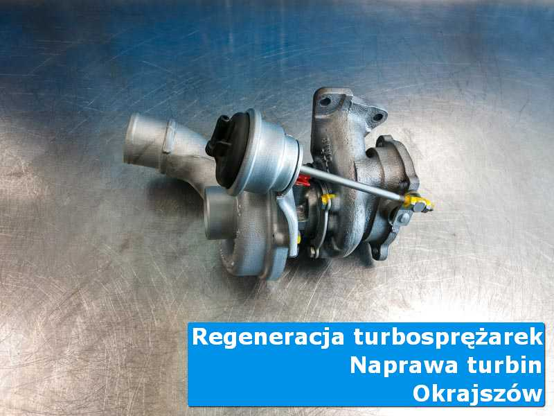 Turbosprężarka po demontażu w profesjonalnym serwisie w Okrajszowie