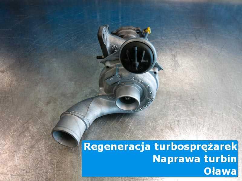 Turbosprężarka po wymianie w autoryzowanym serwisie w Oławie