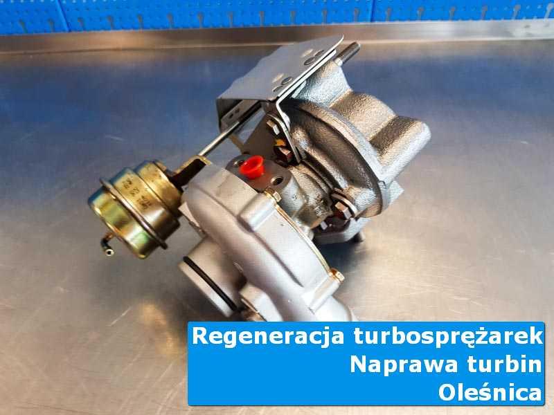 Układ turbodoładowania po wymianie w pracowni z Oleśnicy