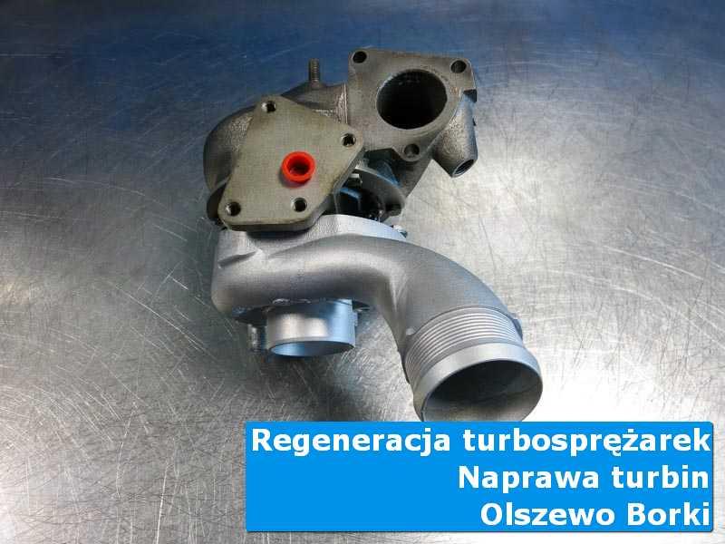 Układ turbodoładowania przed wysyłką w laboratorium z Olszewa-Borek