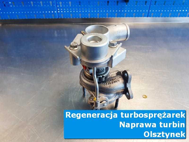 Układ turbodoładowania po wizycie w ASO w warsztacie w Olsztynku
