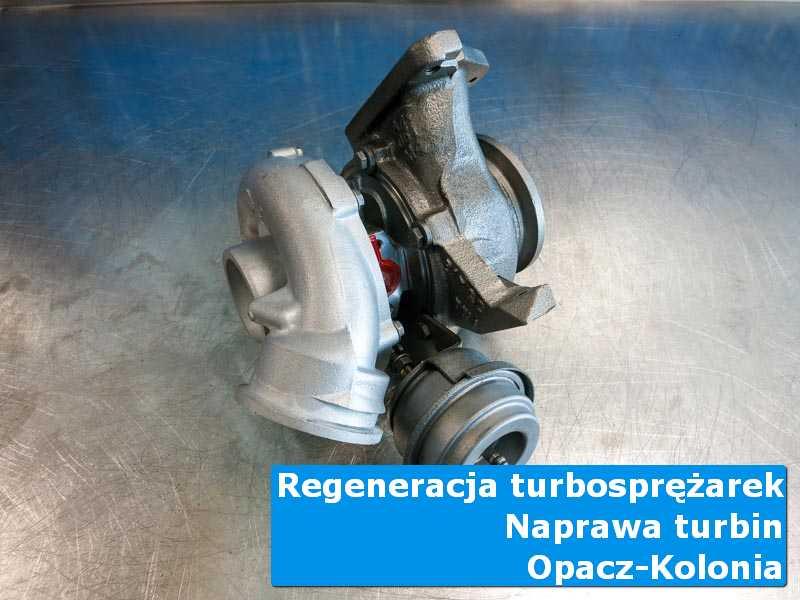 Układ turbodoładowania po czyszczeniu w specjalistycznej pracowni w Opaczy-Kolonii