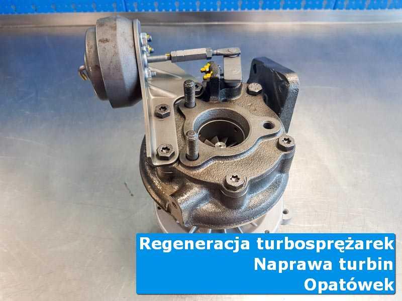Układ turbodoładowania po wyważaniu w autoryzowanej pracowni z Opatówka