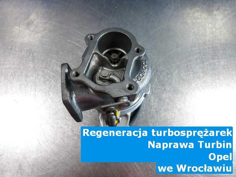 Turbosprężarka z auta Opel po przywróceniu osiągów pod Wrocławiem
