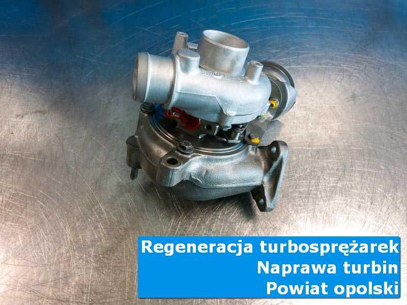 Turbosprężarka przed wysyłką w profesjonalnym serwisie, powiat opolski (lubelskie)