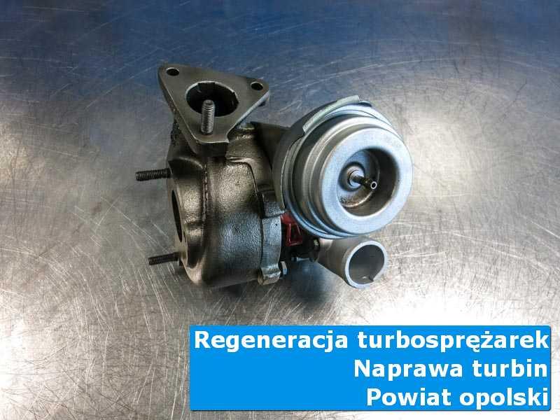 Turbosprężarka po czyszczeniu w warsztacie, powiat opolski
