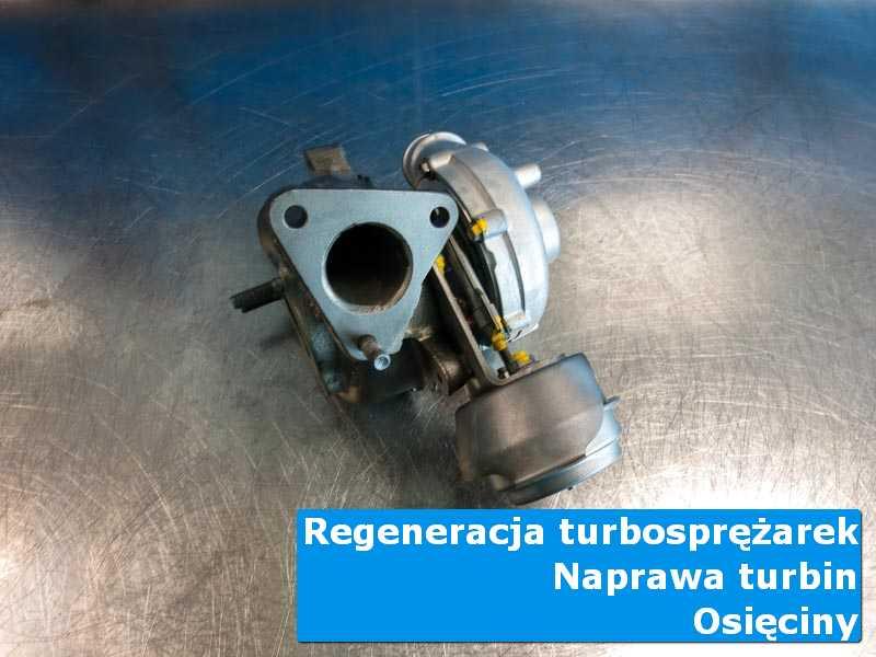 Układ turbodoładowania po wizycie w ASO u fachowców w Osięcinach