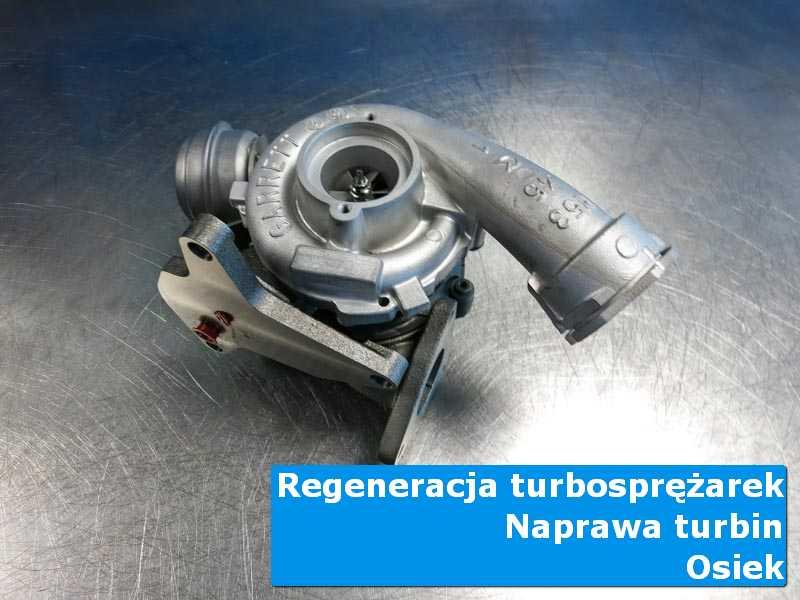 Układ turbodoładowania po przywróceniu sprawności na stole w laboratorium w Osieku