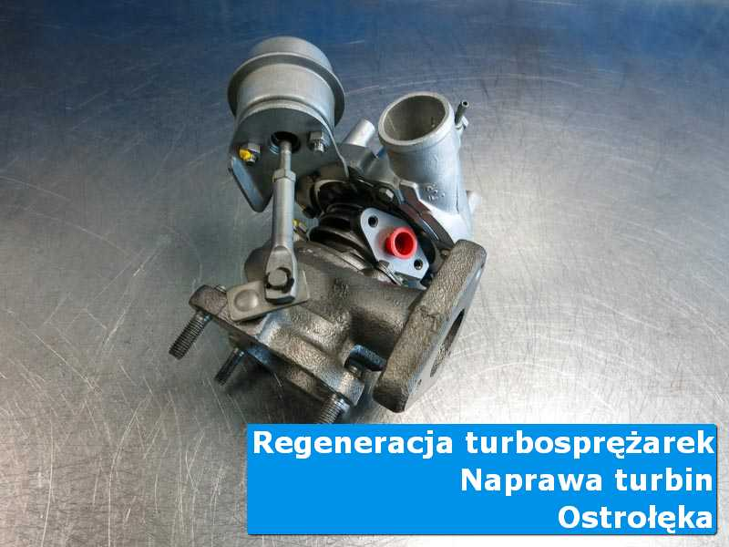 Układ turbodoładowania przed montażem w autoryzowanej pracowni z Ostrołęki