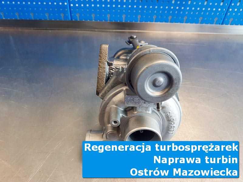Układ turbodoładowania po wizycie w ASO na stole w pracowni w Ostrowi Mazowieckiej