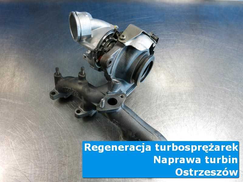 Układ turbodoładowania po czyszczeniu w specjalistycznej pracowni z Ostrzeszowa