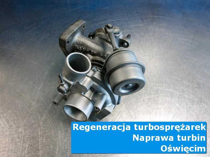 Układ turbodoładowania po wyważaniu w specjalistycznej pracowni w Oświęcimiu