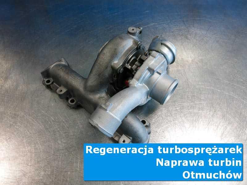 Układ turbodoładowania po wyważaniu w specjalistycznej pracowni z Otmuchowa