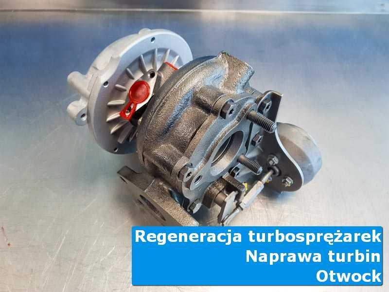 Układ turbodoładowania przed montażem u fachowców z Otwocka