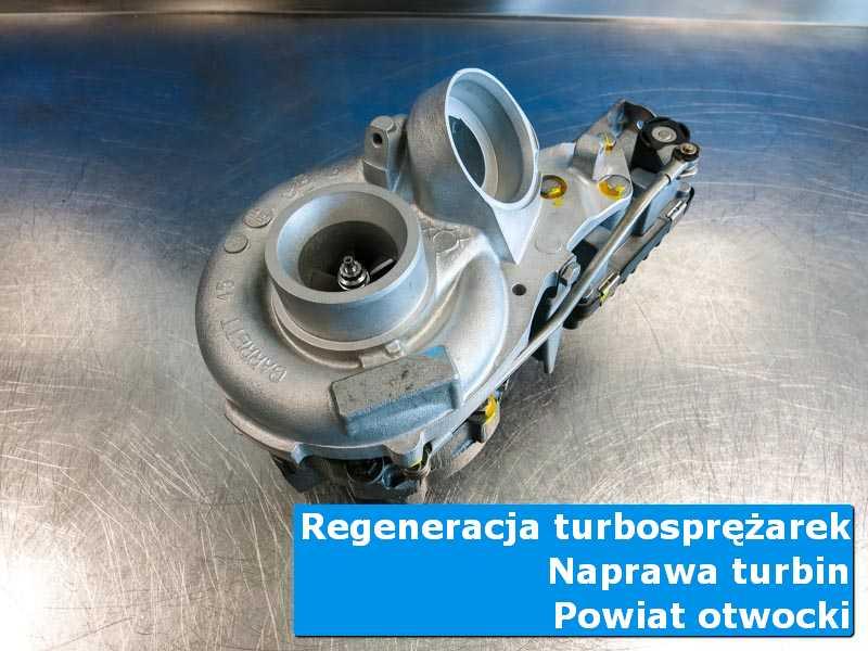 Turbosprężarka po czyszczeniu w autoryzowanej pracowni, powiat otwocki
