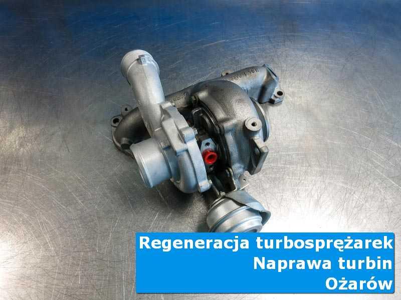 Układ turbodoładowania przed montażem w pracowni z Ożarowa