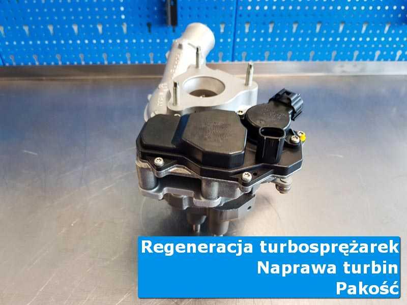 Turbosprężarka po przygotowaniu w specjalistycznej pracowni z Pakości