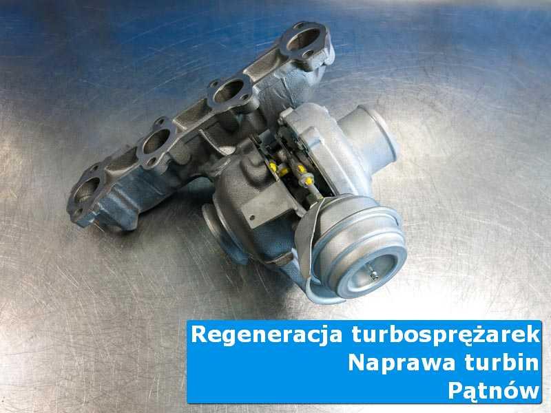 Turbosprężarka przed pakowaniem w laboratorium z Pątnowa