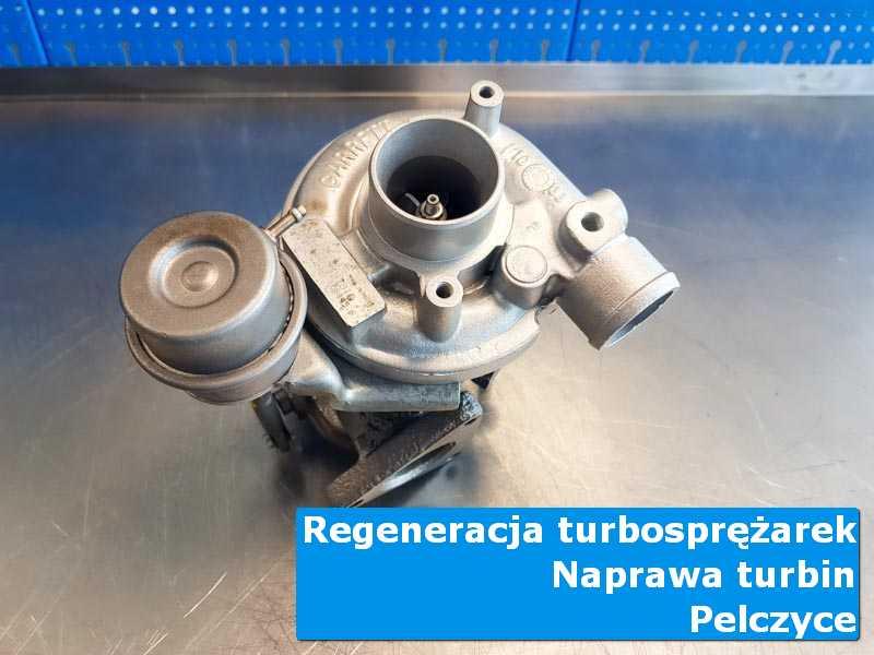 Turbosprężarka przed pakowaniem w specjalistycznej pracowni w Pełczycach