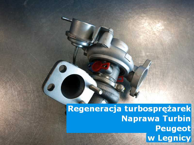 Turbosprężarki z auta Peugeot po sprawdzeniu pod Legnicą