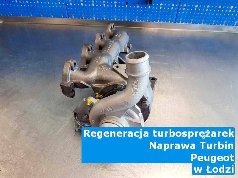 Turbo z auta Peugeot z fabrycznymi osiągami w Łodzi
