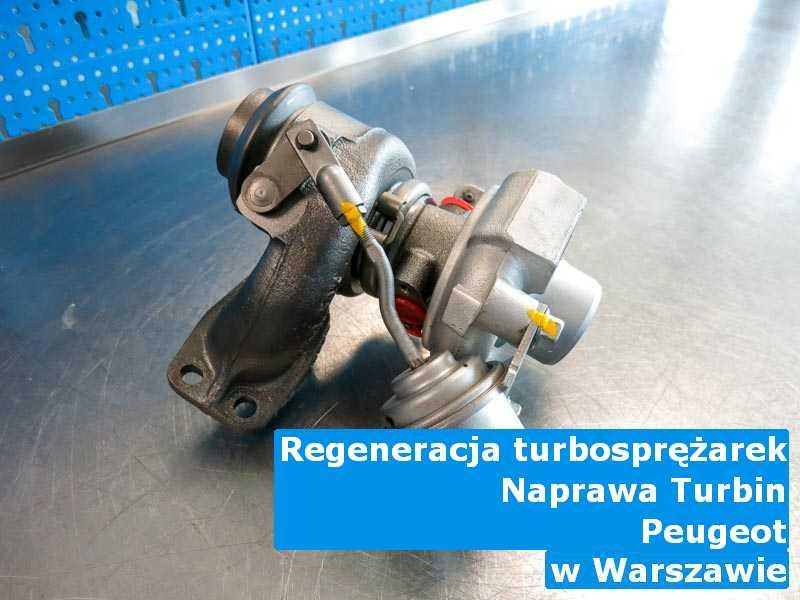 Turbosprężarka z pojazdu marki Peugeot po wizycie w warsztacie z Warszawy