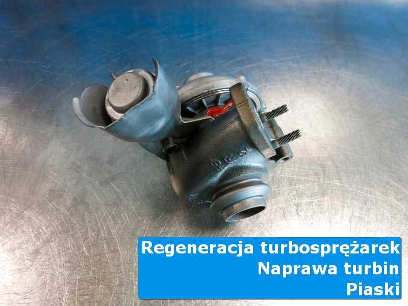 Układ turbodoładowania przed oddaniem do klienta w nowoczesnej pracowni z Piasków