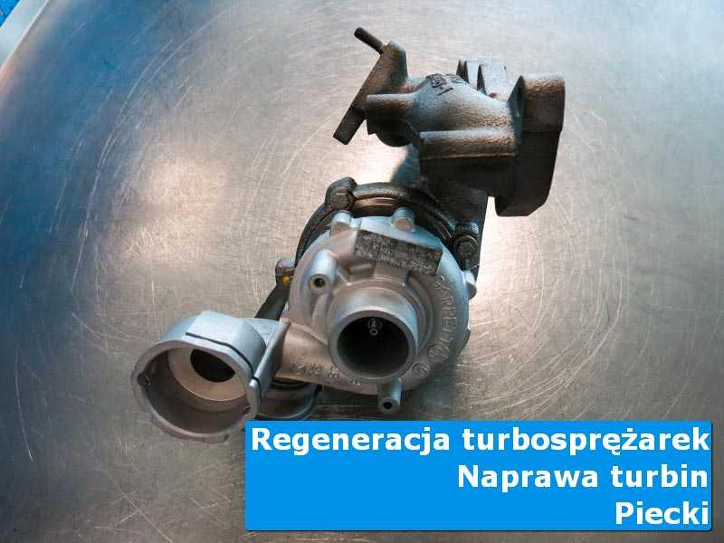 Układ turbodoładowania po wizycie w ASO w autoryzowanej pracowni z Piecków