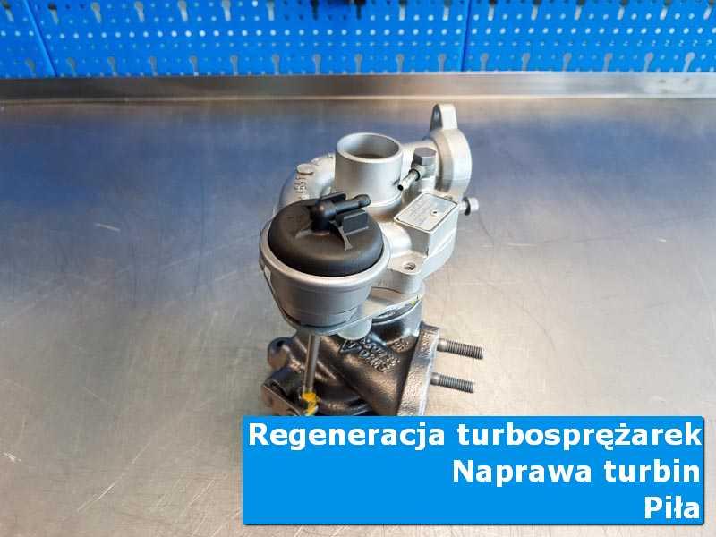 Turbosprężarka po demontażu u fachowców z Piły