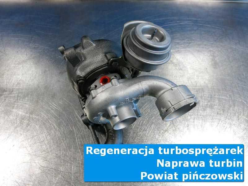 Turbosprężarka po naprawie w nowoczesnej pracowni, powiat pińczowski