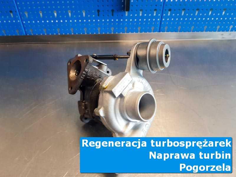 Turbosprężarka po demontażu u specjalistów z Pogorzeli