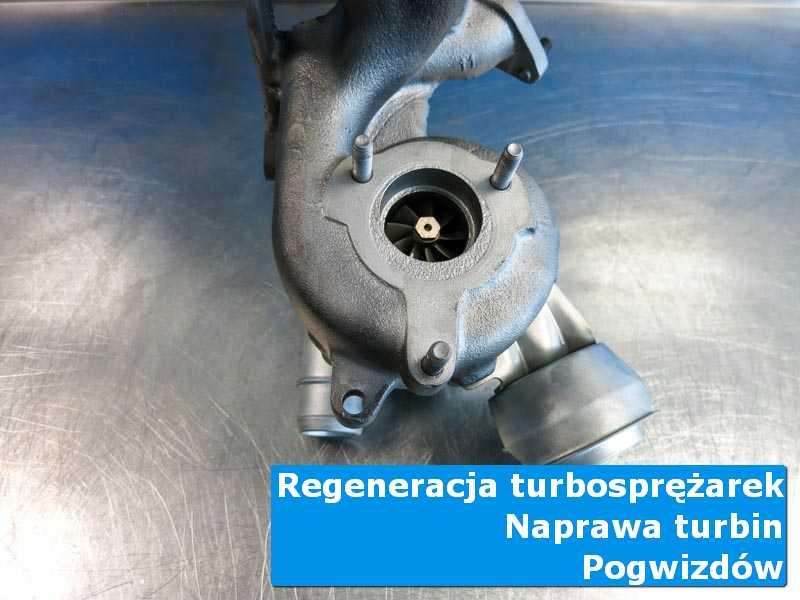 Układ turbodoładowania po demontażu w laboratorium w Pogwizdowie