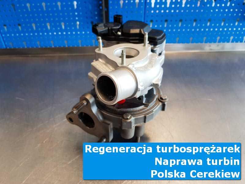 Turbosprężarka przed oddaniem do klienta w autoryzowanym serwisie w Polskiej Cerekwi