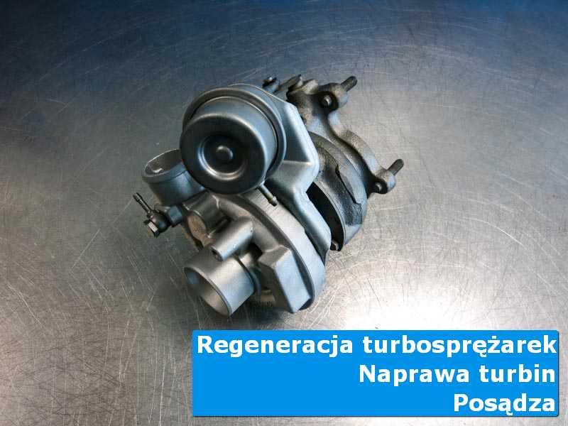 Turbosprężarka po przygotowaniu w autoryzowanym serwisie z Posądzy
