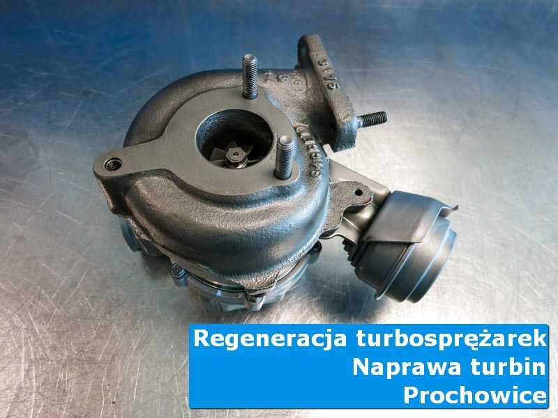 Układ turbodoładowania przed oddaniem do klienta w nowoczesnej pracowni w Prochowicach