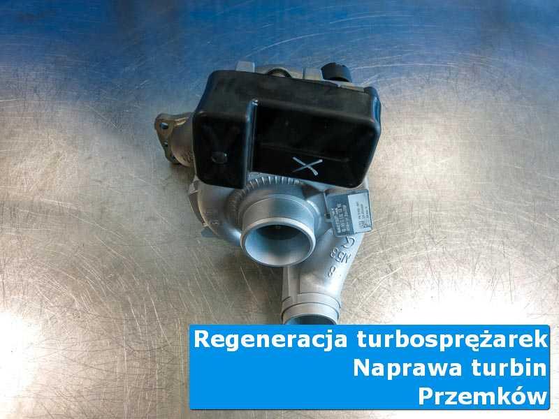 Układ turbodoładowania po regeneracji w specjalistycznej pracowni w Przemkowie