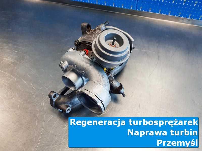 Układ turbodoładowania przed montażem w specjalistycznej pracowni w Przemyślu
