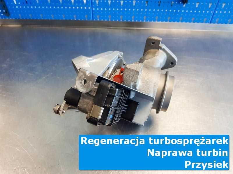 Turbosprężarka przed pakowaniem u fachowców w Przysieku