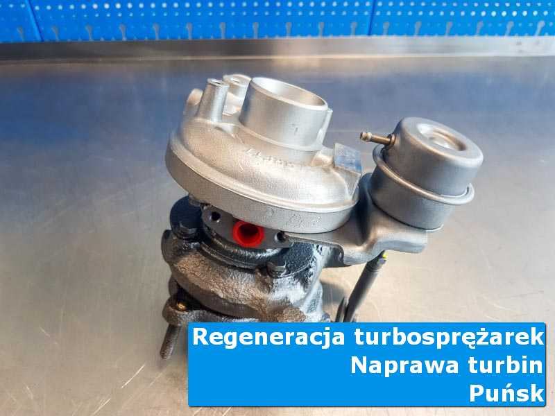 Turbosprężarka po przygotowaniu u specjalistów z Puńska