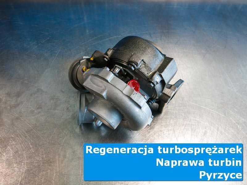 Układ turbodoładowania przed demontażem w autoryzowanej pracowni w Pyrzycach