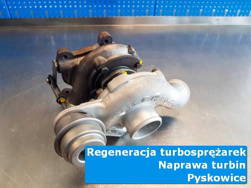 Układ turbodoładowania po przygotowaniu w warsztacie z Pyskowic